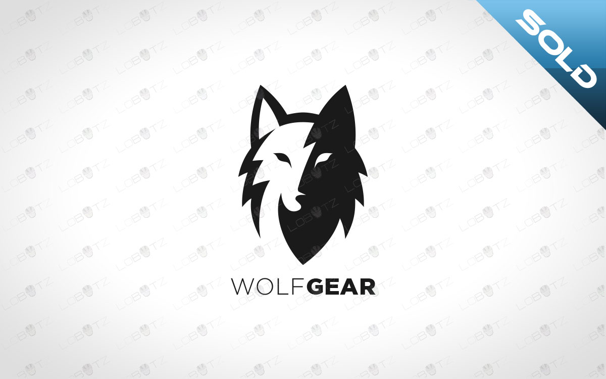 wolf logo for sale alpha logo premade logo