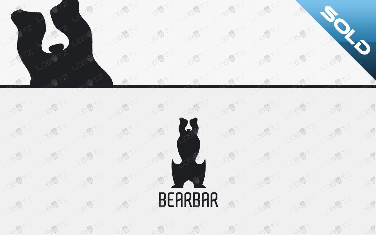 bear logo for sale