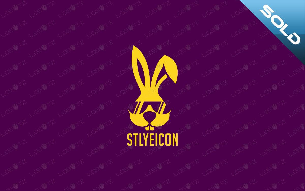 stylish bunny logo for sale rabbit logo for sale