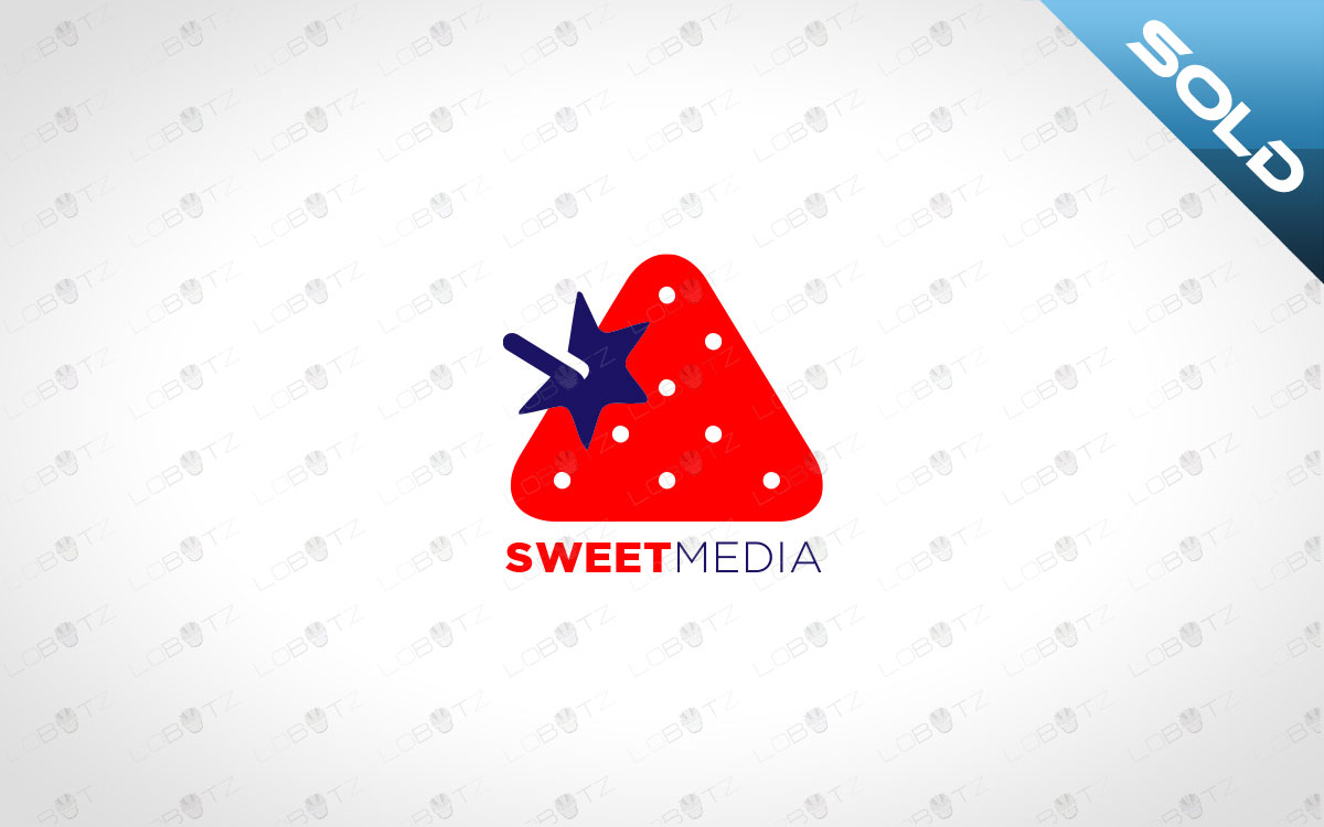 strawberry logo for sale