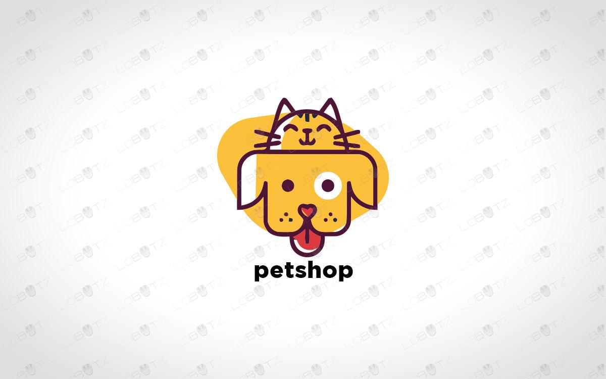 premade pets logo pet logo for sale