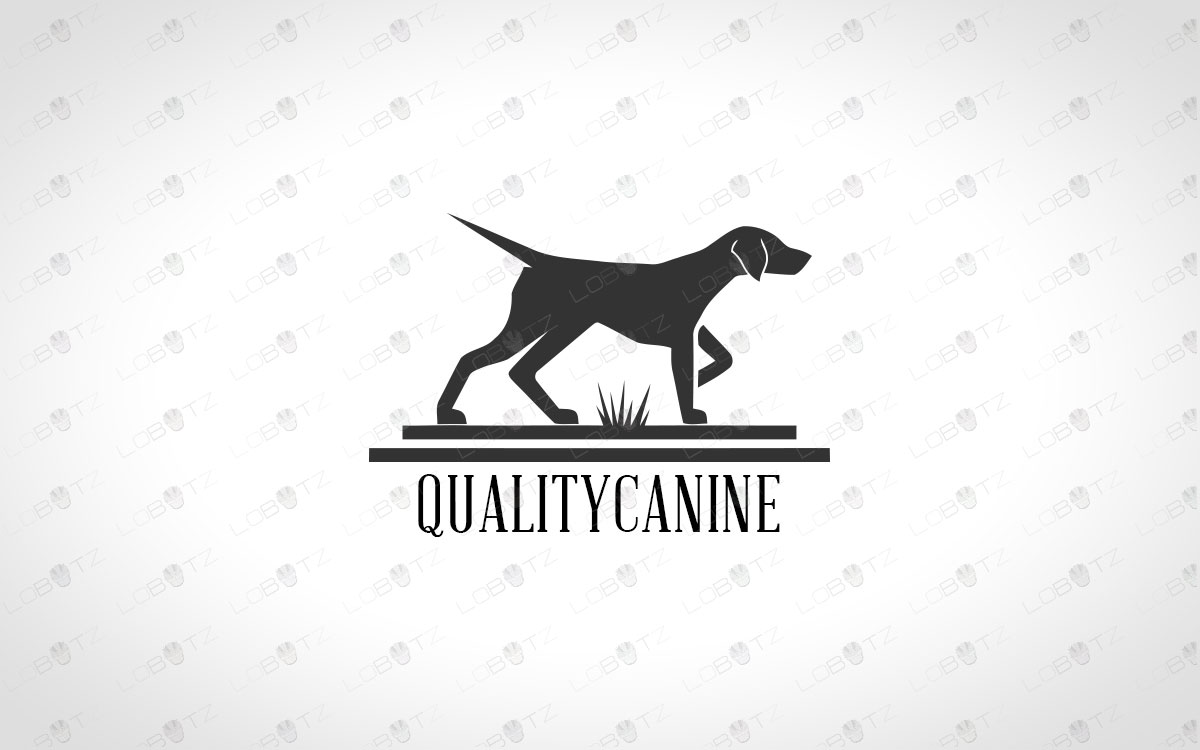 Hunting Dog Logo For Sale