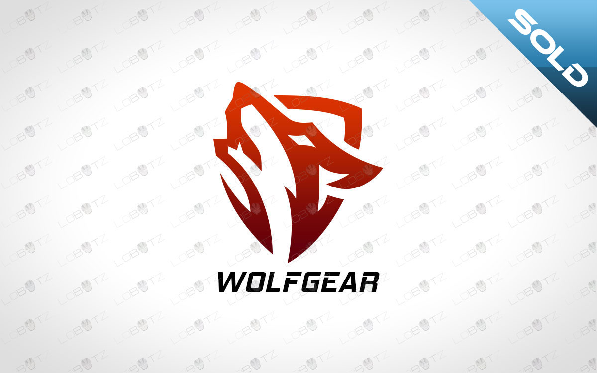 wolf logo for sale premade logo