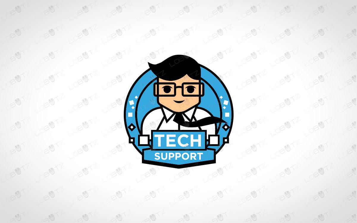 Tech Logo For Sale Tech Company Logo Tech Guy Logo