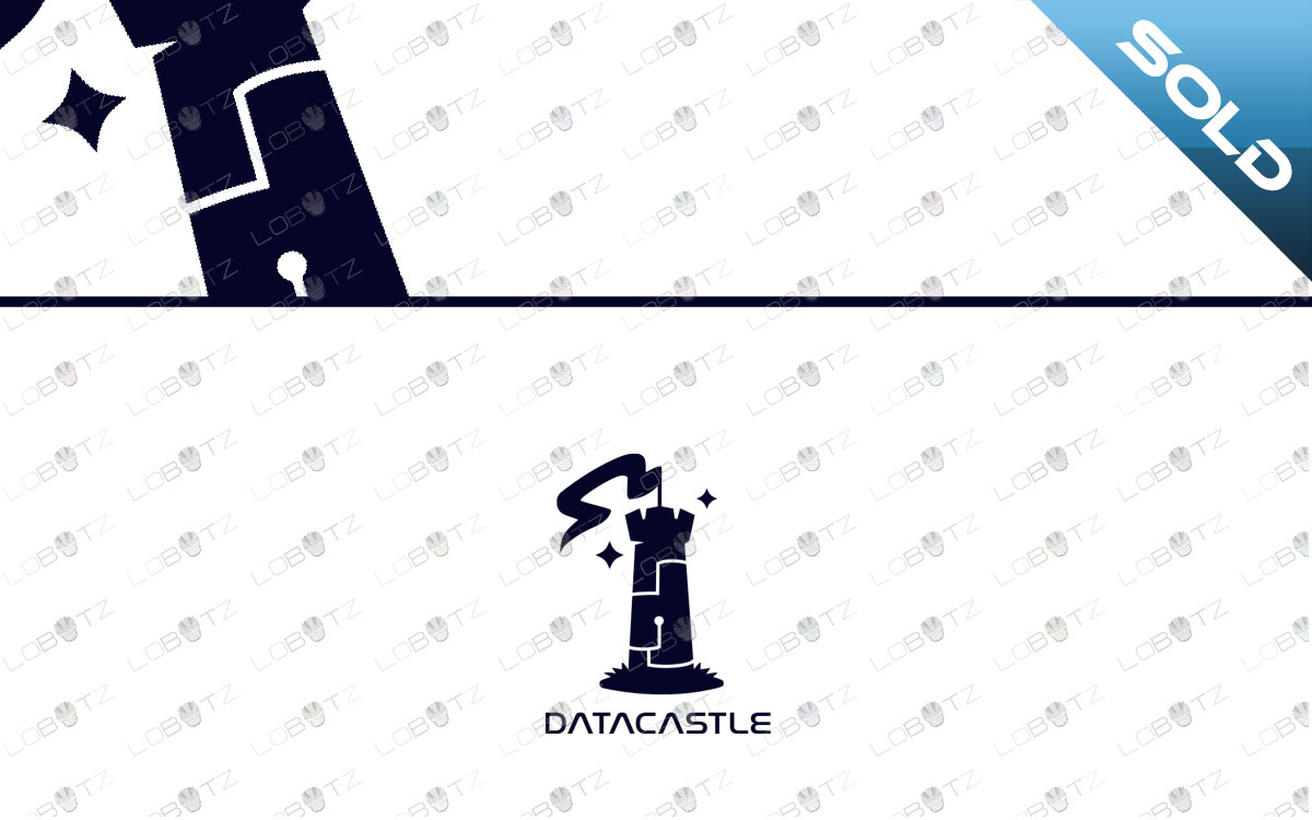 data castle logo for sale