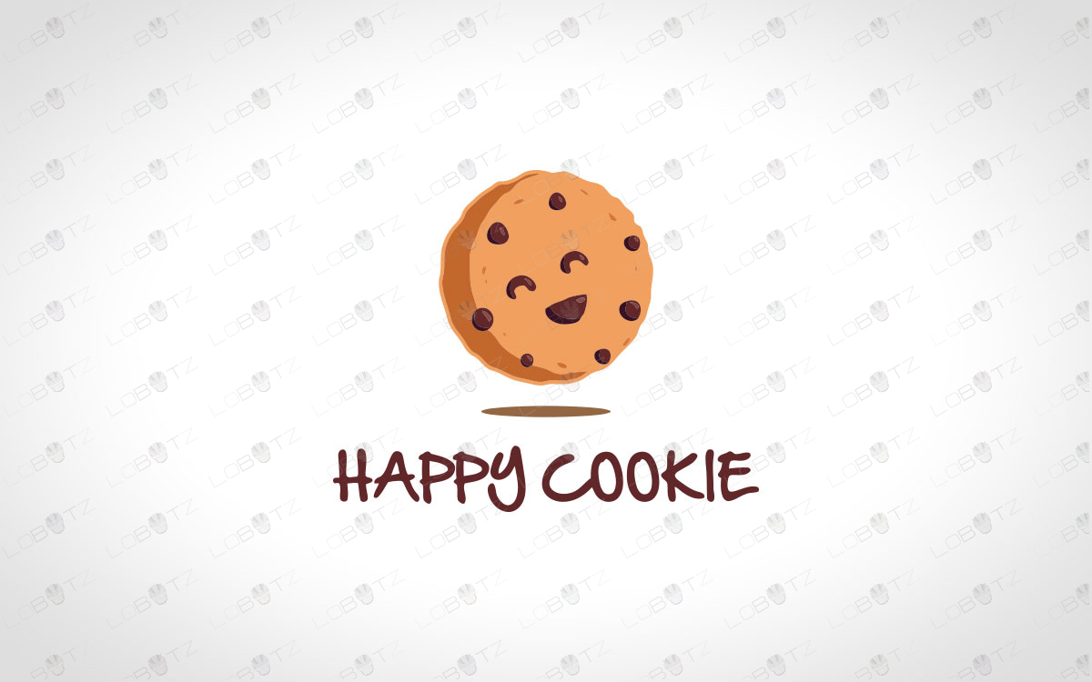 premade cookie logo for sale