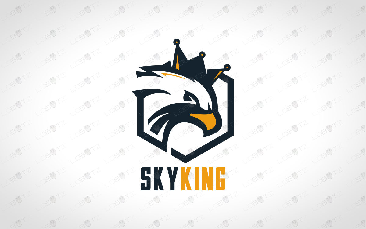 Minimalist Eagle Logo For Sale Premade Eagle Logo
