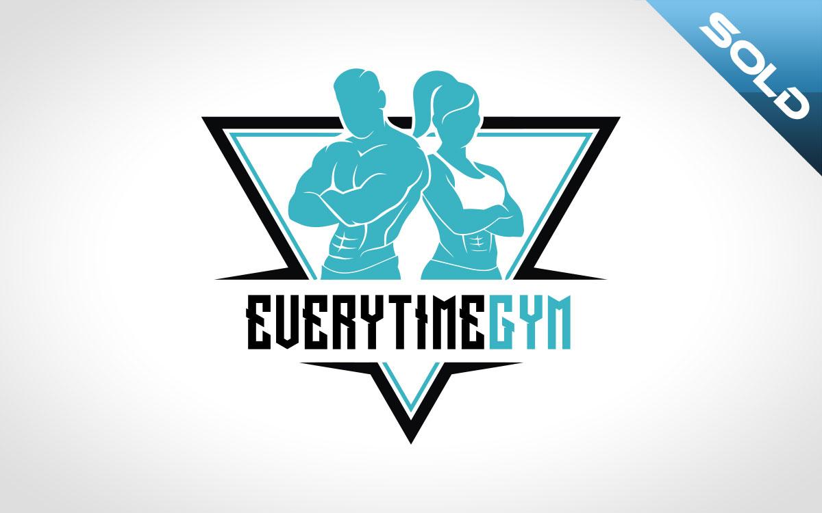 gym logo for sale premade BodyBuilding Logo