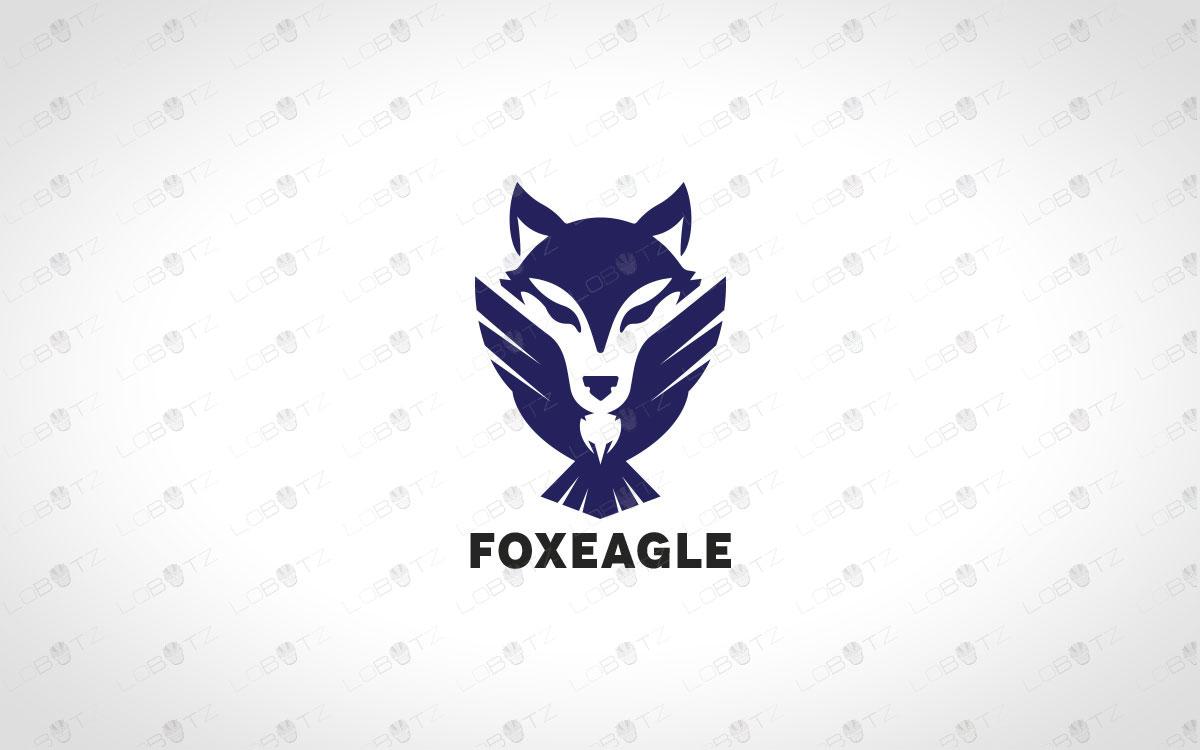Minimalist & Creative Eagle Logo And Fox Logo