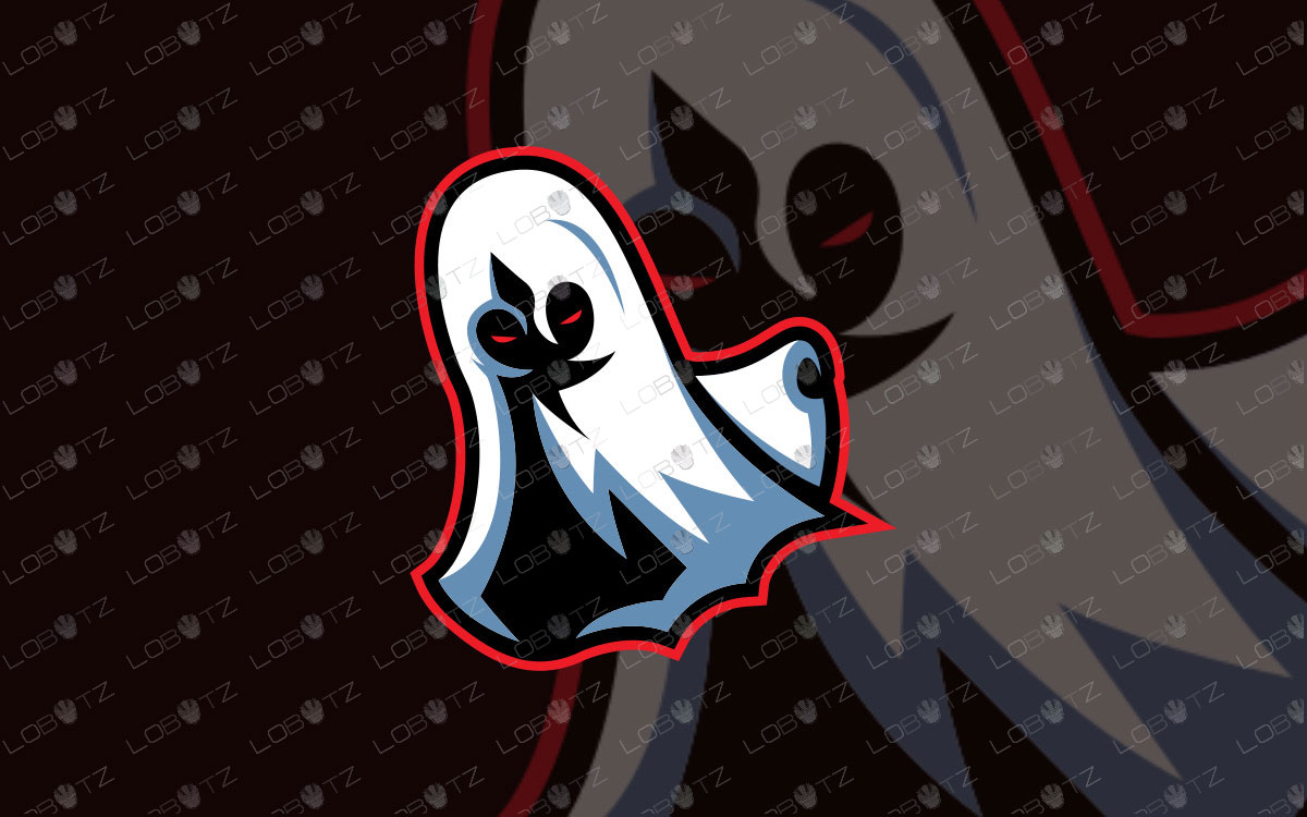 Ghost eSports Logo Ghost Mascot Logo For Sale