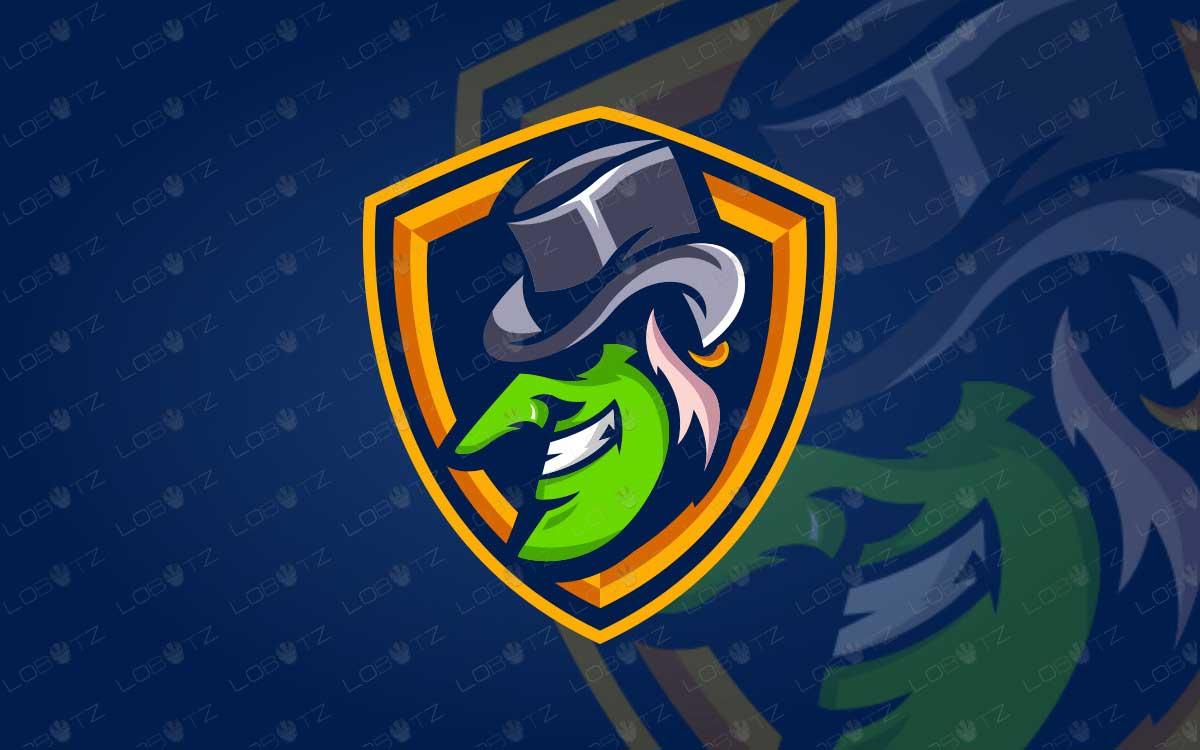 Goblin Mascot Logo For Sale Premade Goblin eSports Logo