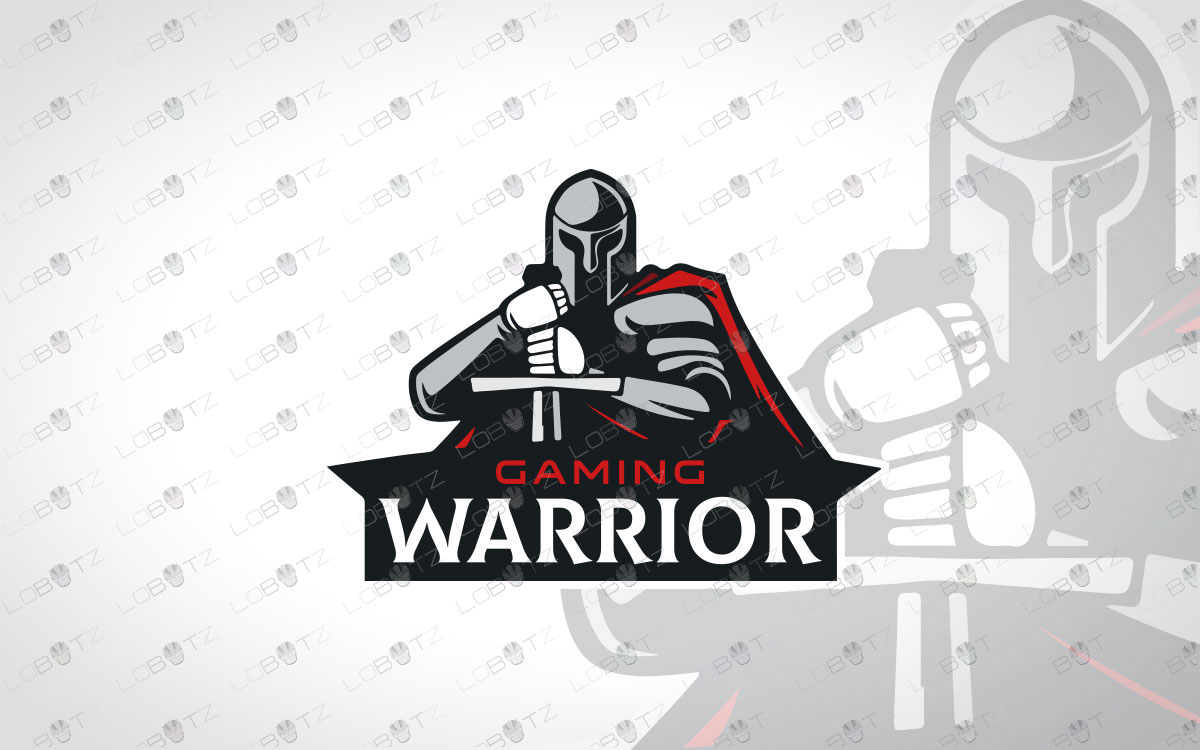 Modern Warrior Spartan Logo For Sale Gladiator Logo