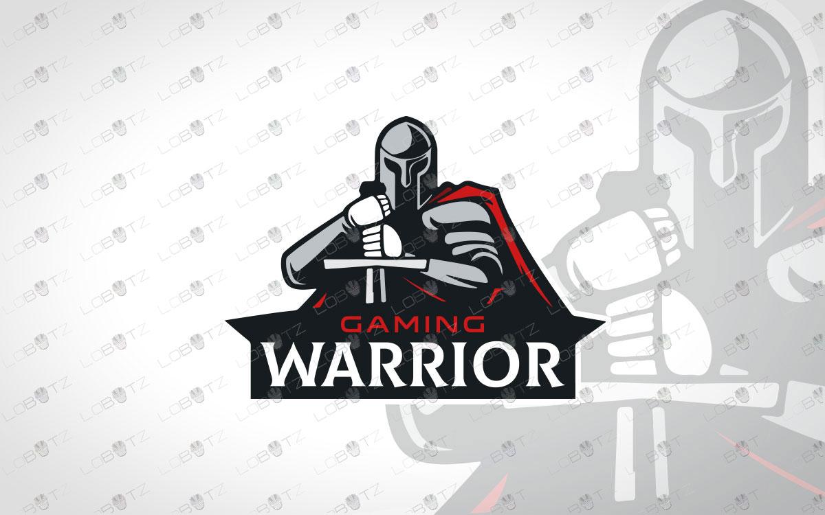 Modern Warrior Spartan Logo For Sale Gladiator Logo