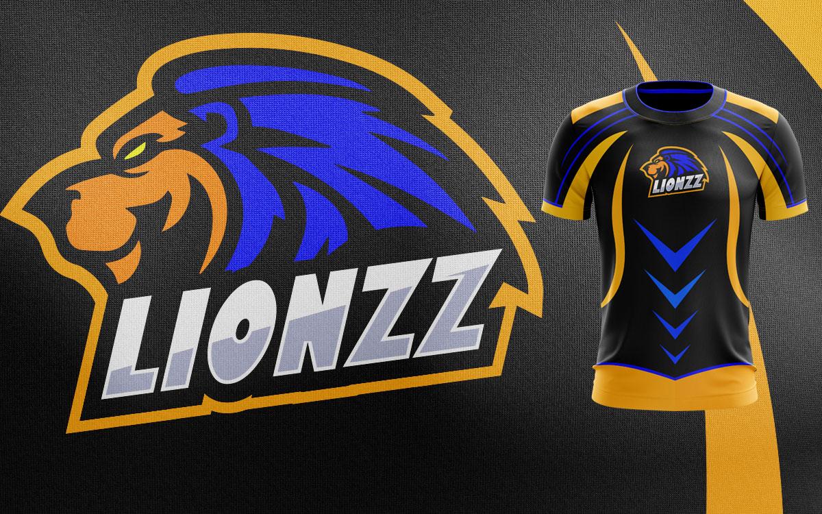 Lion Mascot Logo | Lion eSports Logo For Sale Premade Logos