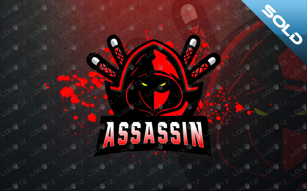 Assassin Mascot Logo For Sale | Ninja Mascot Logo premade logos