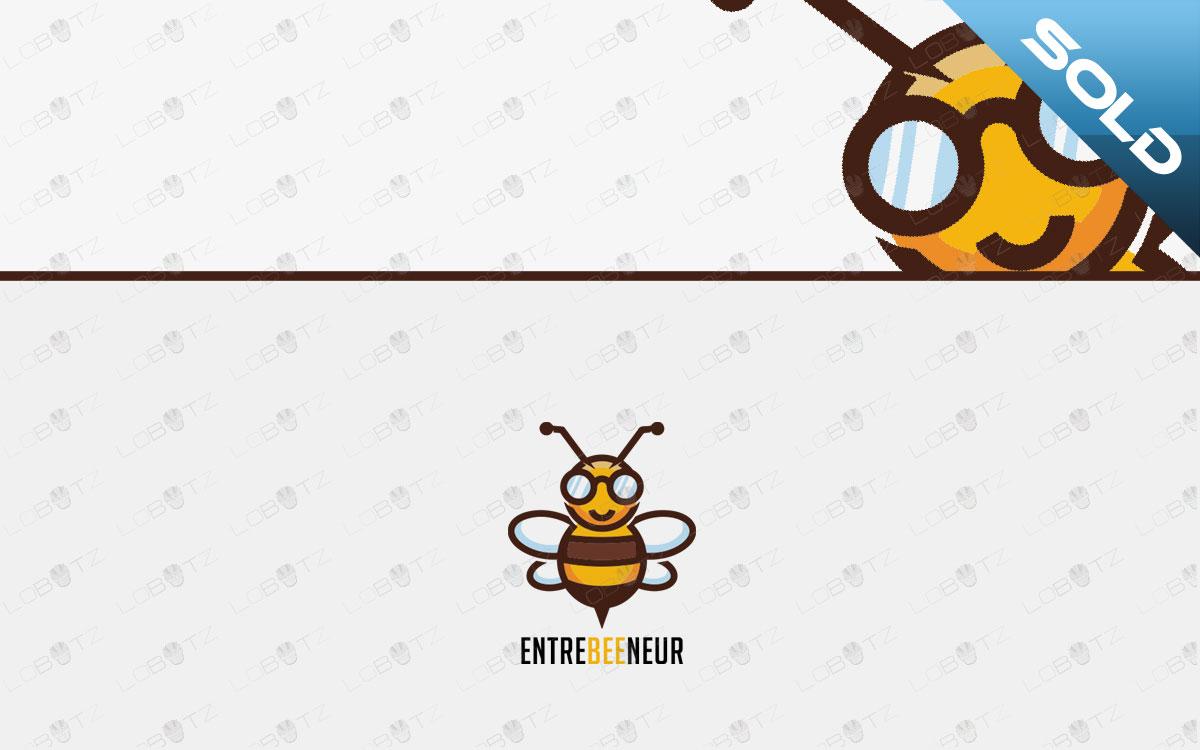 Bee Logo For Sale premade bee logo