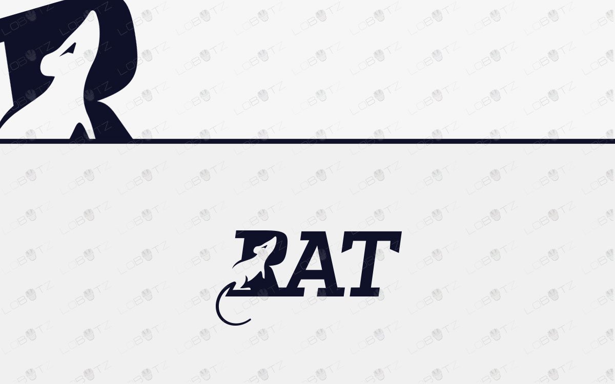 Rat Logo | Premade Rat Logo For Sale