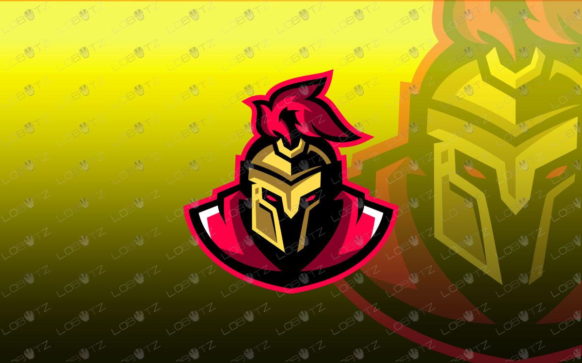 Spartan Mascot Logo Spartan eSports Logo