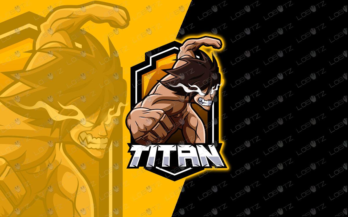 titan mascot logo titan esports logo premade logos