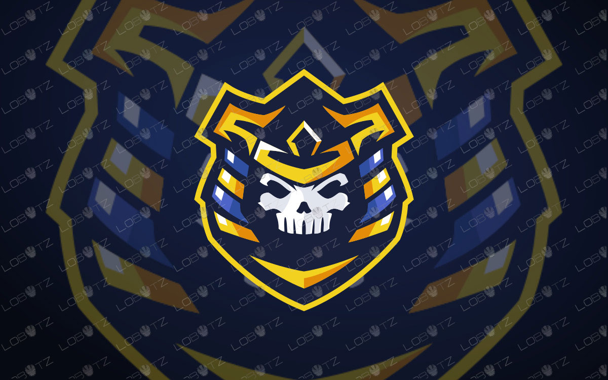 Skull Pharaoh Mascot Logo For Sale | Skull Pharaoh eSports Logo