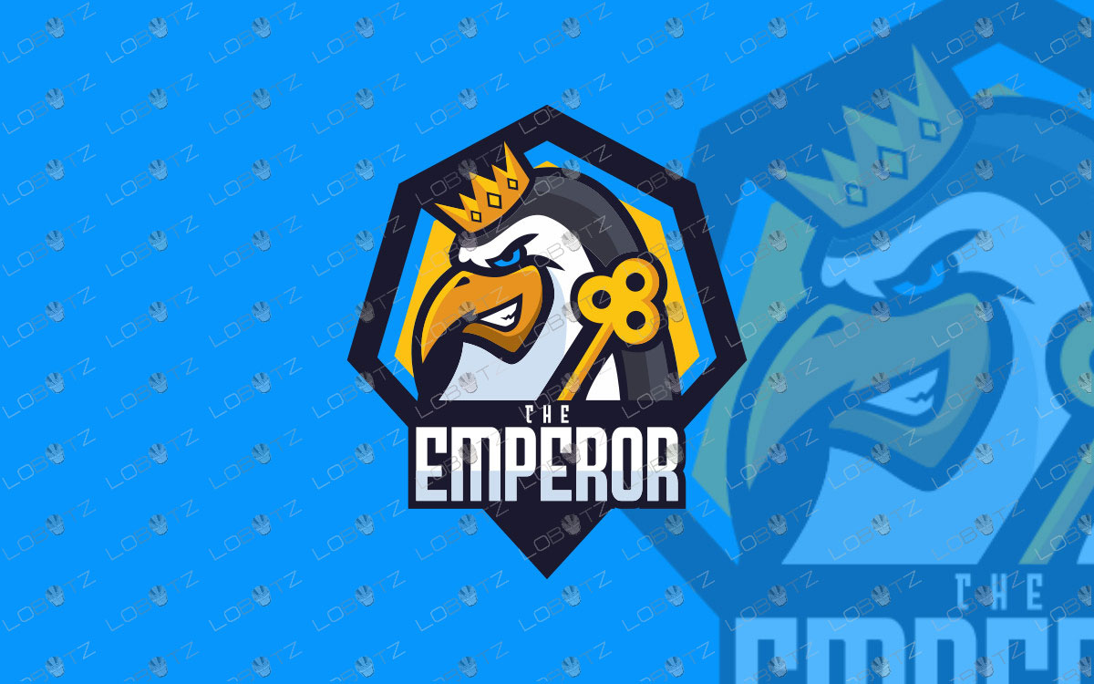 Emperor Penguin Mascot Logo For Sale | Penguin eSports Logo