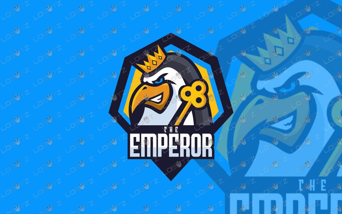 Emperor Penguin Mascot Logo For Sale | Penguin eSports Logo