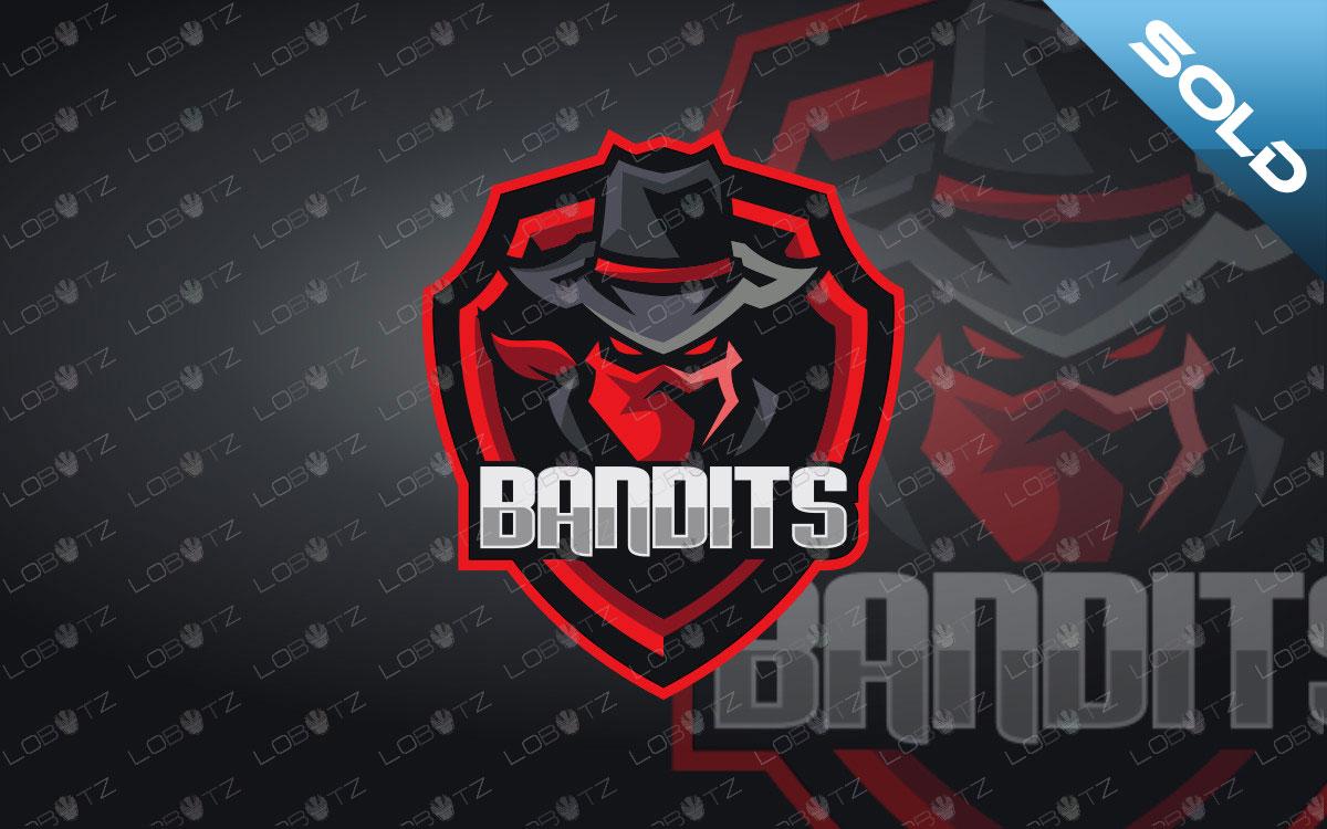 Bandit Mascot Logo For Sale | Bandit eSports Logo