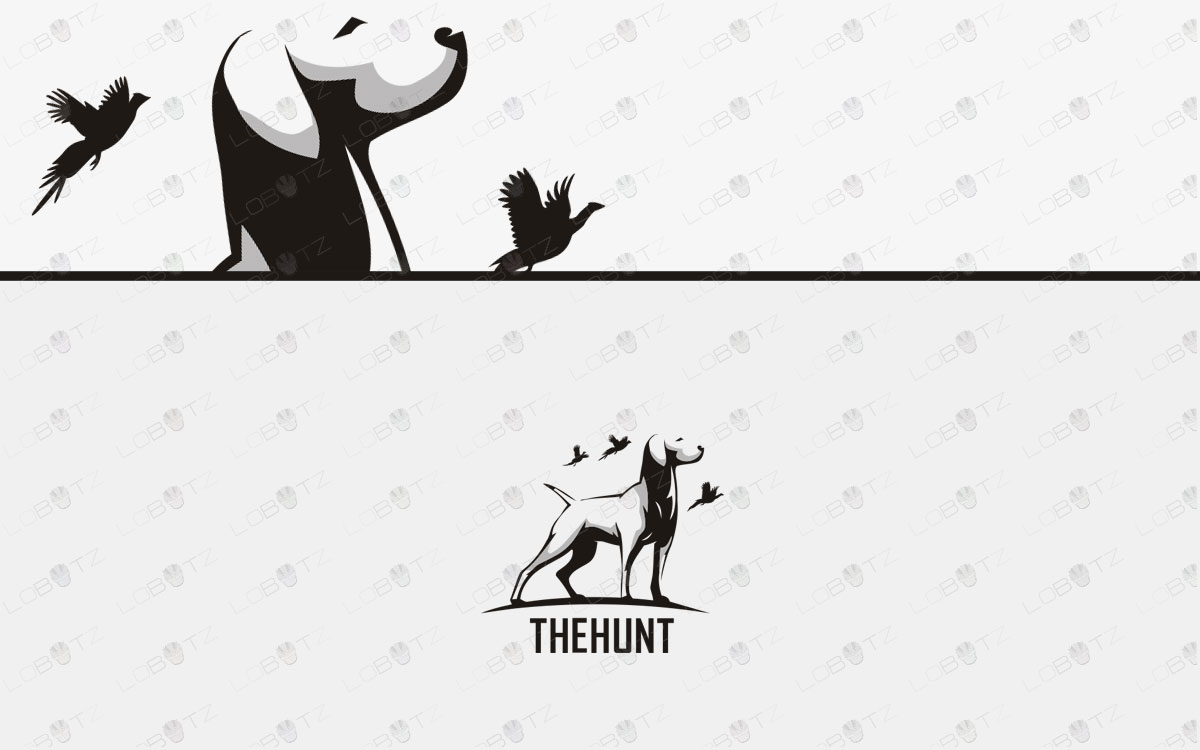 Supreme Dog Logo For Sale Hunting Dog Logo