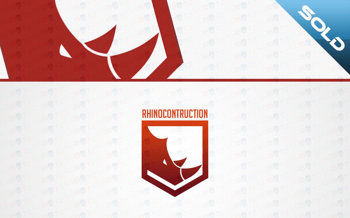 rhino logo for sale
