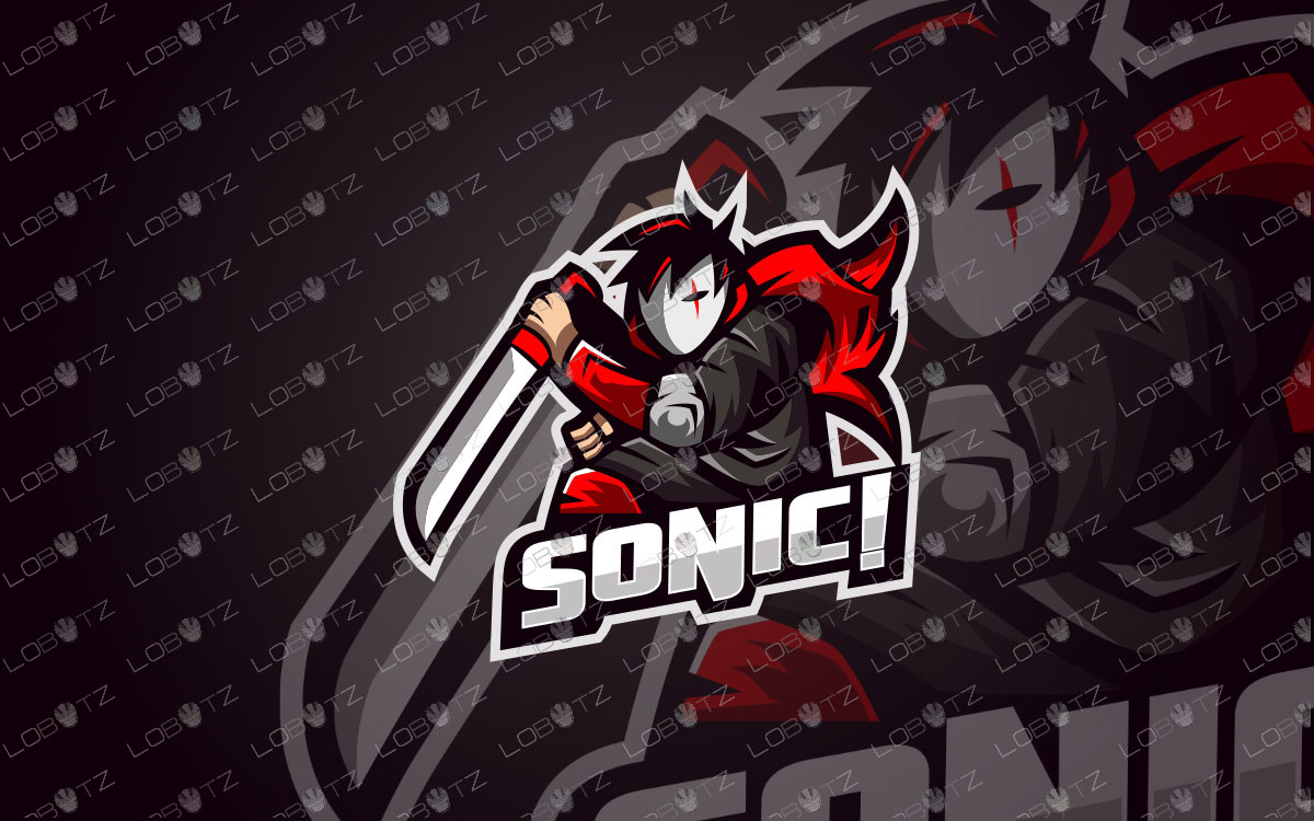 Assassin Mascot Logo For Sale | Assassin eSports Logo