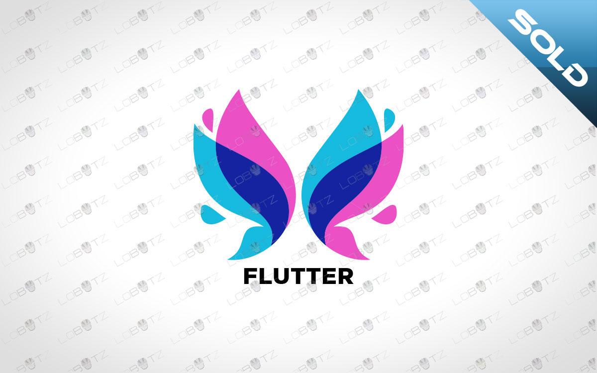 Modern Butterfly Logo For Sale | Premade Butterfly Logo