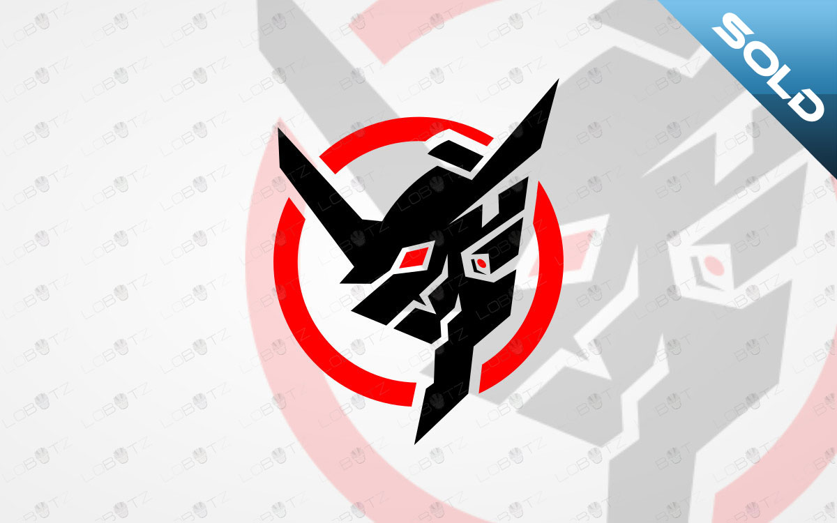 Mecha Mascot Logo For Sale Mecha eSports Logo