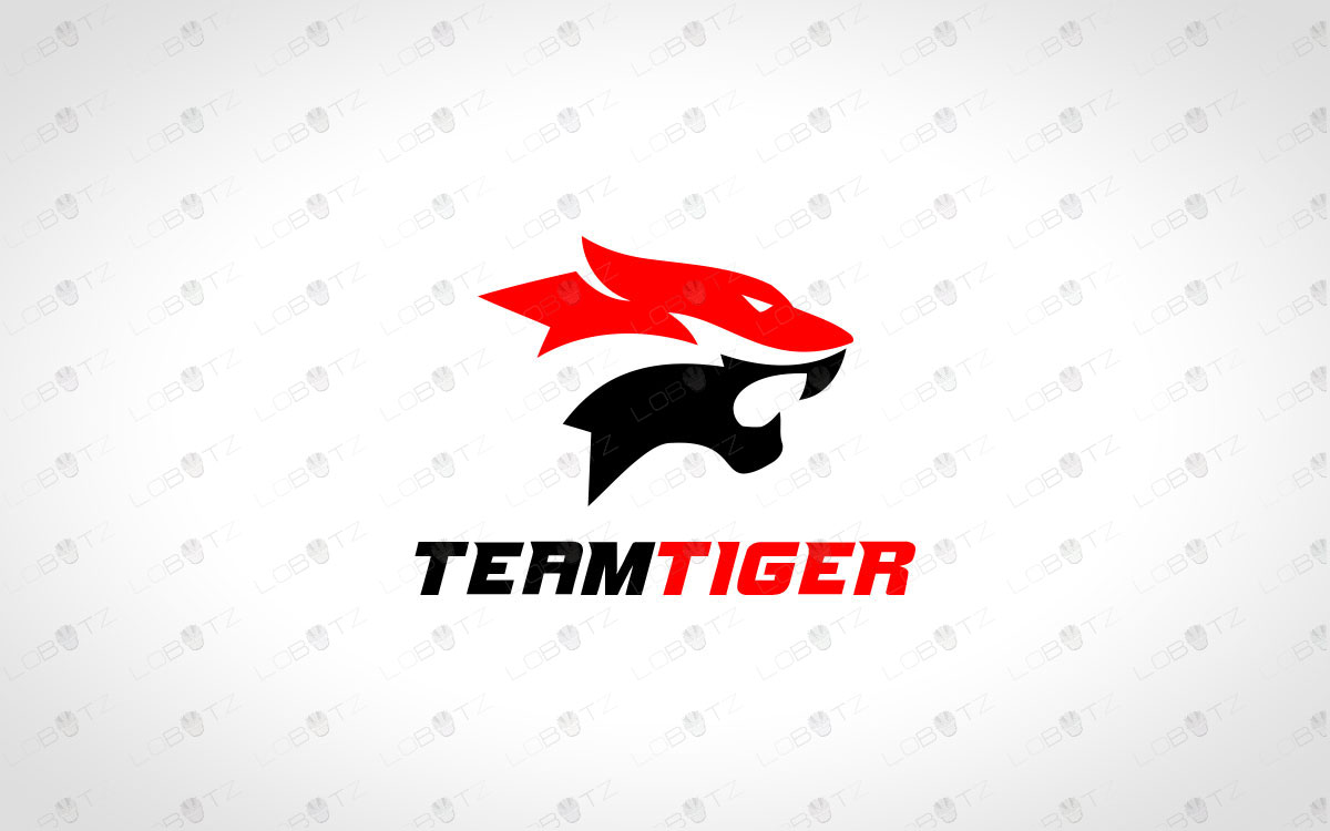 Tiger Clan Logo | Tiger Team Logo | Tiger Gaming Logo For Sale