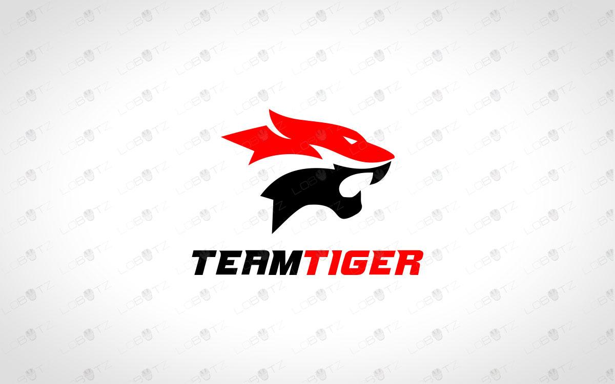Tiger Clan Logo | Tiger Team Logo | Tiger Gaming Logo For Sale