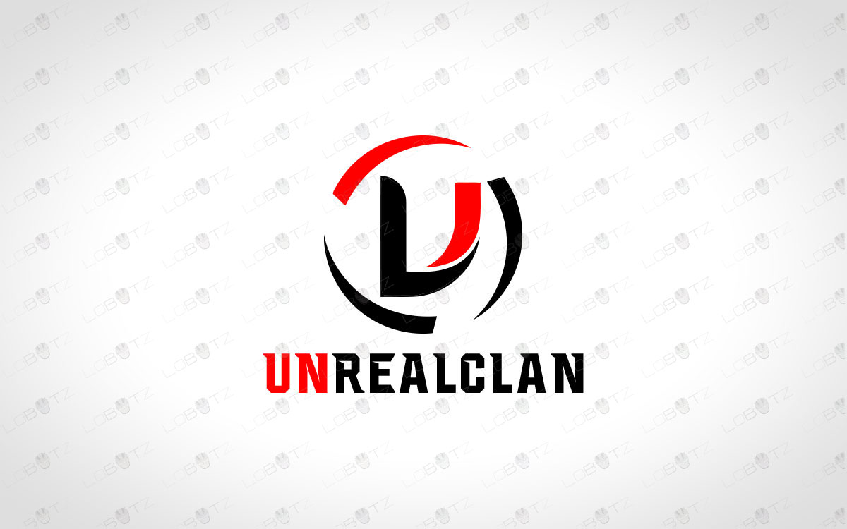 letter U Team logo for sale Clan logo for sale premade clan logo