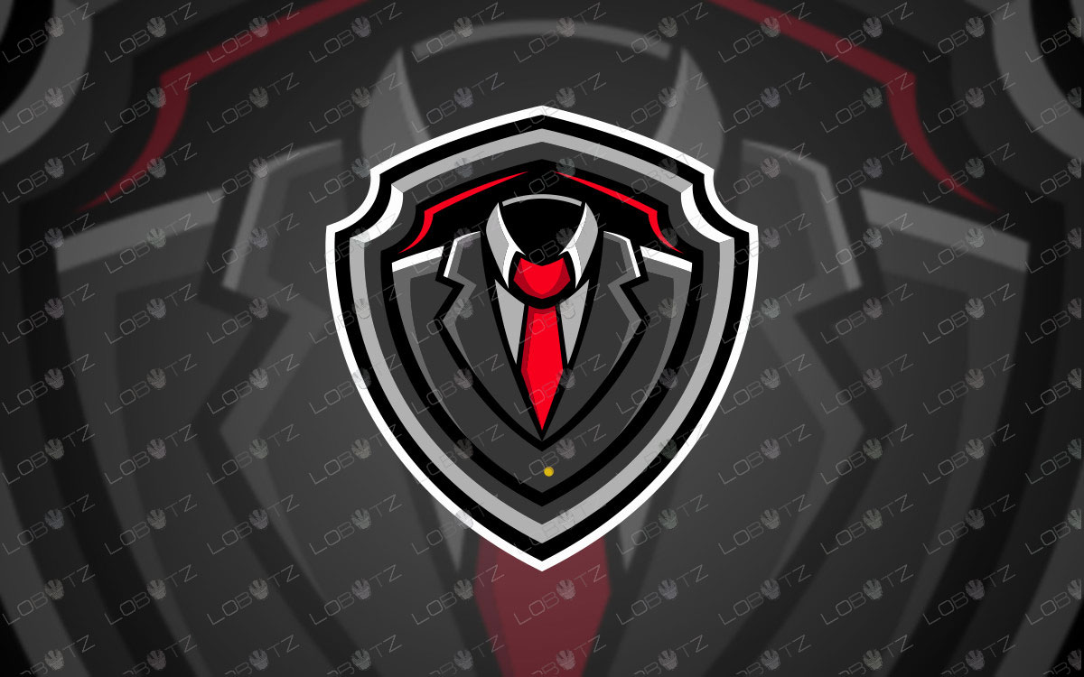 Premade Gentlemen Mascot Logo For Sale