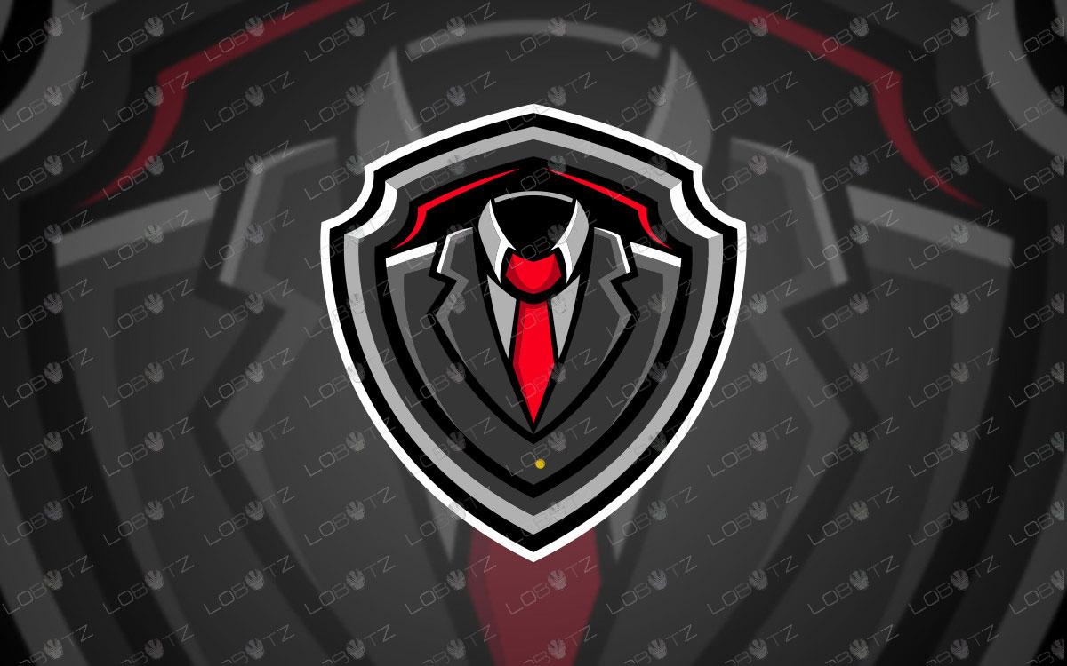 Premade Gentlemen Mascot Logo For Sale