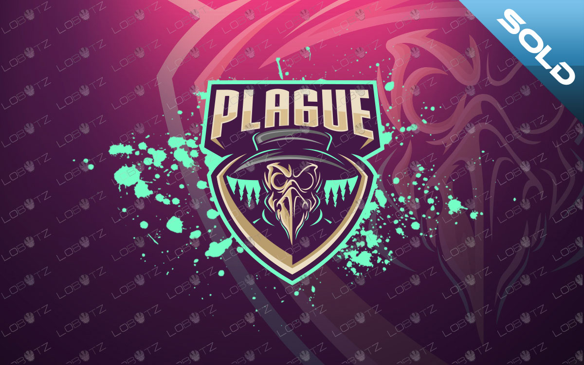plague doctor mascot logo plague doctor esports logo