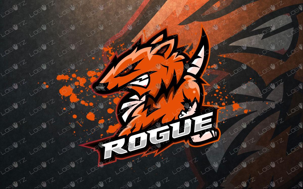 Rat Mascot Logo | Rat eSports Logo For Sale