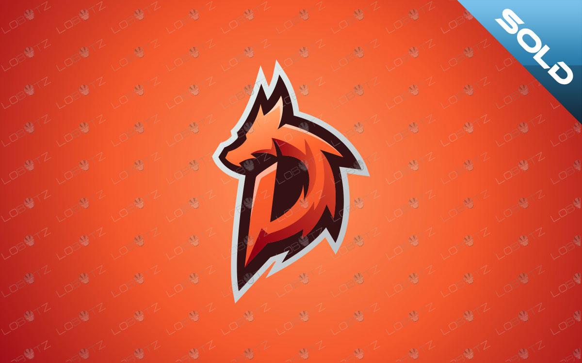 Letter D Dragon Mascot Logo | Dragon eSports Logo For Sale