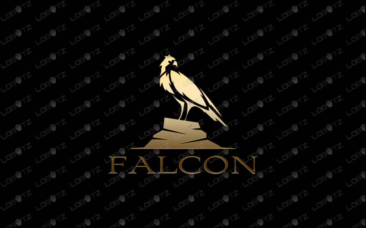 Falcon Logo For Sale | Creative & Simple Falcon Logo