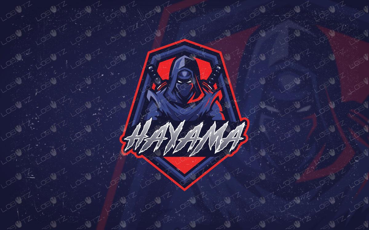 Assassin Ninja Logo | Ninja eSports Logo | Ninja Mascot Logo