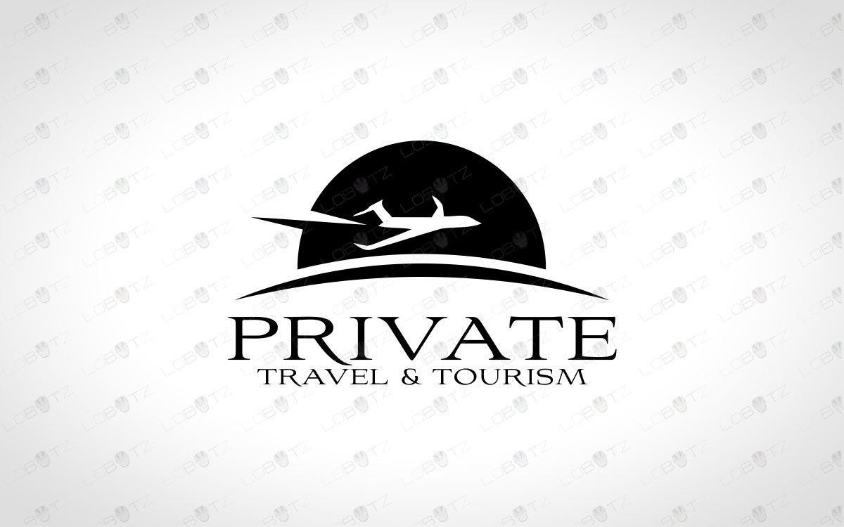 Creative & Modern Travel Logo Plane Logo For Sale Jet Logo