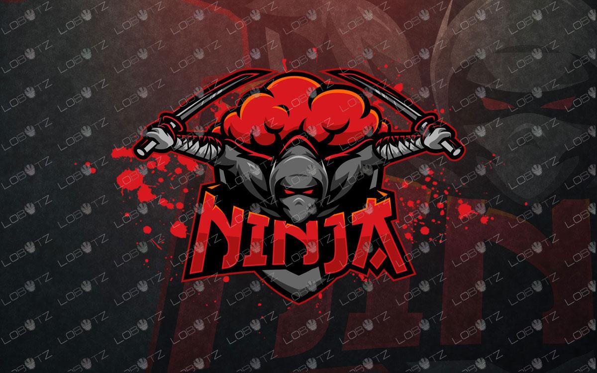ninja mascot logo ninja esports logo premade logos