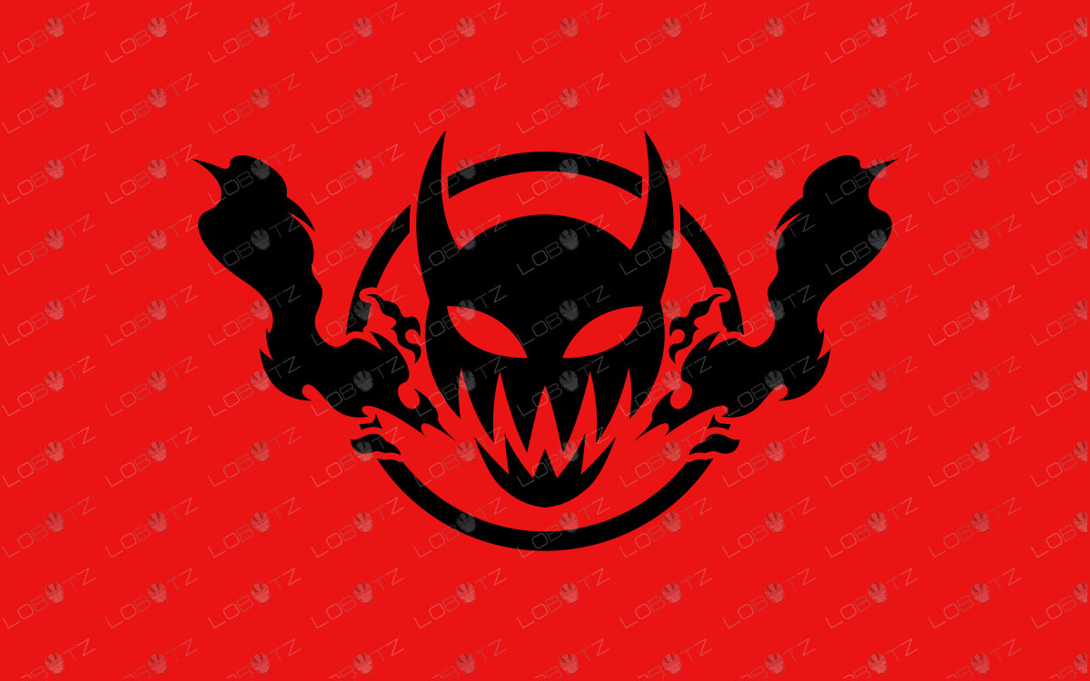 Devil Mascot Logo For Sale | Devil eSports Logo