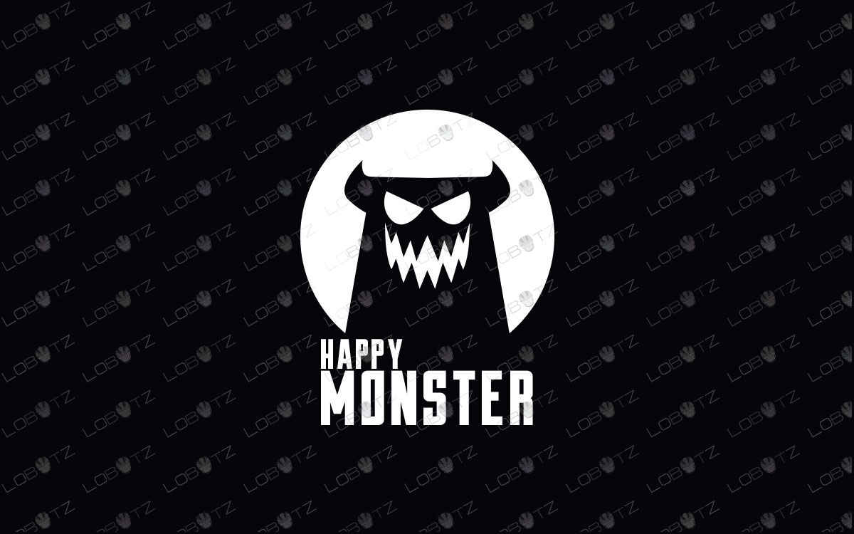 Modern & Trendy Monster Logo For Sale