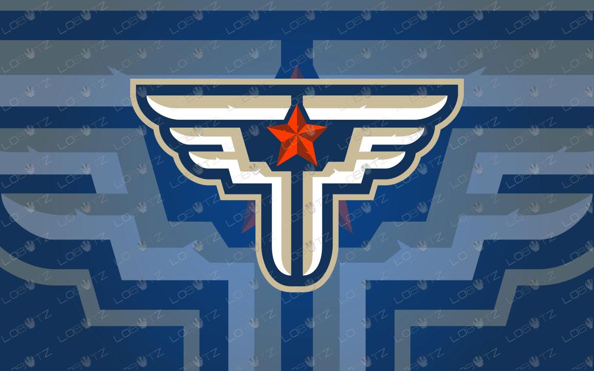 Letter P Logo | Patriot Logo | Letter P Clan Logo
