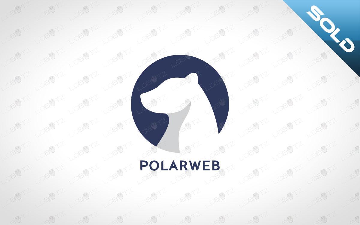 polar bear logo for sale premade polar bear logo
