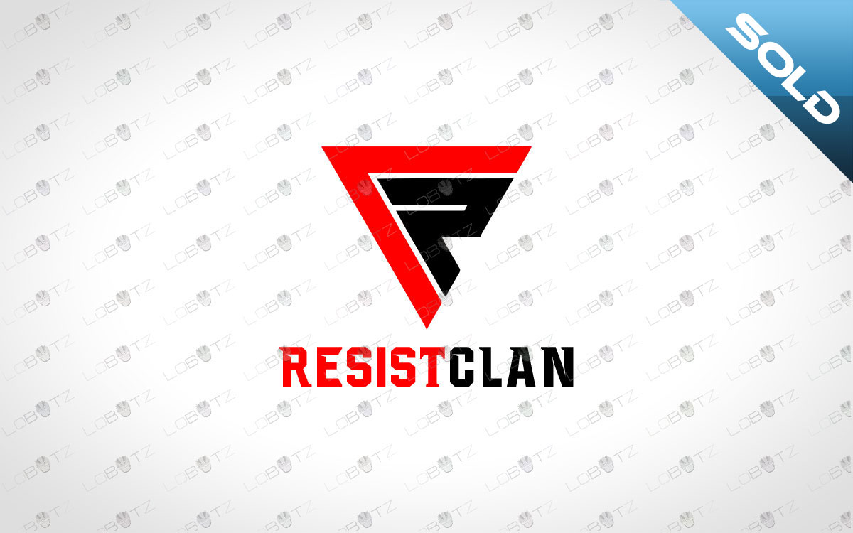letter R Team logo for sale Clan logo for sale premade clan logo