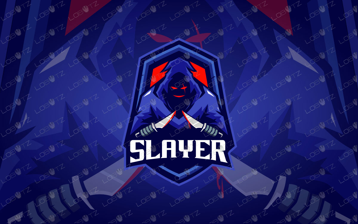 Slayer Mascot Logo | Slayer eSports Logo | Slayer Mascot Logo
